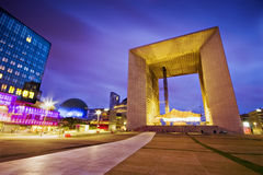 Arch La defense Stock Images