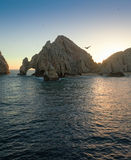 The Arch at Land's End. The natural rock formation The Arch at Land's End, Cabo San Lucas, Mexico Stock Photo