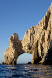 Arch at Lands End in Cabo San Lucas, Mexico. Calm ocean at the famous natural arch at Lands End in Cabo San Lucas, Mexico Stock Image