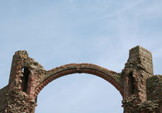 Arch at Lindisfarne stock photography