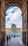 Through the arch Royalty Free Stock Images