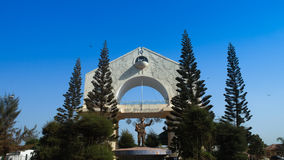 Arch 22 is the main symbol of Banjul Gambia. Arch 22 is the main symbol of Banjul, Gambia Royalty Free Stock Image