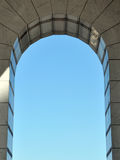 Arch of marble tiles Royalty Free Stock Image