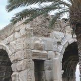 Arch of Marc Aurelius. Tripoli, Lybia - May 28, 2002: Arch of Marc Aurelius in Tripoli Royalty Free Stock Photography