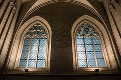 Arch, Medieval Architecture, Window, Gothic Architecture Stock Photos