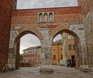 Arch in Milan Royalty Free Stock Image