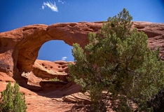 Arch in Monument Valley Stock Photo