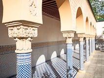 Arch with Moorish ornament in Tilt Stock Photo
