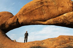 Arch in Namibia Stock Image