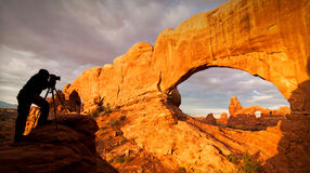 Free Arch National Park Stock Photography - 29227242