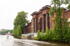 Arch of New Holland on the Moika River Royalty Free Stock Photography