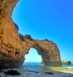 Arch at ocean Stock Photography