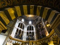 Free Arch Of Octagon Palatine Chapel In Aachen Dom Royalty Free Stock Images - 107939119