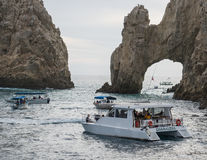 The Arch. Off the coast  in Cabo San Lucas, Mexico Stock Photography