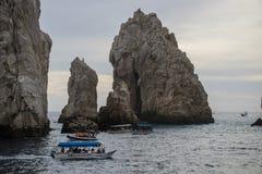 The Arch. Off the coast  in Cabo San Lucas, Mexico Stock Photos