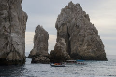 The Arch. Off the coast  in Cabo San Lucas, Mexico Royalty Free Stock Photography