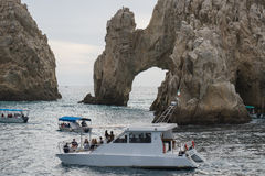 The Arch. Off the coast  in Cabo San Lucas, Mexico Royalty Free Stock Photos