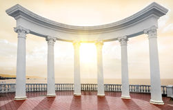 Arch On A Seafront Stock Photography