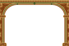 Arch with ornaments Stock Images