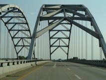 Arch over Bridge Royalty Free Stock Image