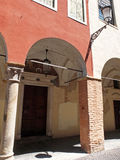 The arch in Padua. Stock Photography