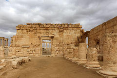 Arch, Palmyra historic site. Palmyra is an ancient Semitic city, Syria Royalty Free Stock Photography