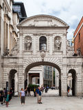 Arch in Paternoster Square London England Stock Images