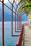 Arch Passage in Varenna Royalty Free Stock Image