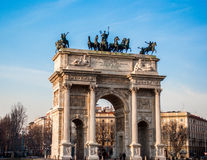 Arch of peace Royalty Free Stock Photos