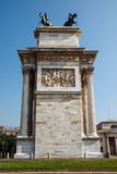 Arch of Peace in Sempione Park, Milan Royalty Free Stock Photo