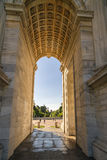 Arch of Peace in Sempione Park, Milan, Lombardy, Italy, 13-05-20 Royalty Free Stock Images