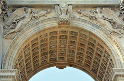 Arch of Peace statue Royalty Free Stock Photo