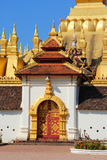 Arch at Pha That Luang. Vientiane Lao PDR Stock Image
