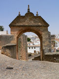 Arch of Philip V. In Ronda, Spain, Europe royalty free stock photos