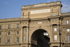 Arch of the Piazza della Republica, Florence Stock Photography