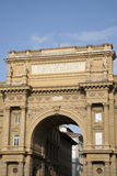Arch of the Piazza della Republica, Florence Stock Image