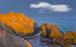 Arch at Point Mugu, CA Royalty Free Stock Photography