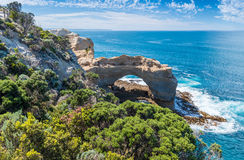 The Arch at Port Campbell National Park on the great ocean road Royalty Free Stock Photos
