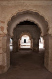 Arch of Raj Mahal palace in Orchha Stock Images