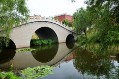 Arch reflection. The picture was taken on July , 2012 in Shenyang, China Stock Images