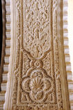 Arch with reliefs of plasterwork at the Casa de Pilatos Palace in Seville, Spain Royalty Free Stock Photography