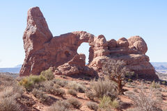 Arch on a Rise Royalty Free Stock Photography