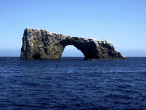Arch Rock, Channel Islands Royalty Free Stock Image
