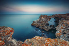 The Arch - rock formation near Tyulenovo Royalty Free Stock Photography