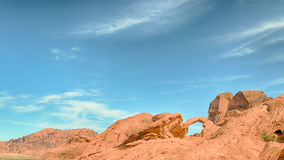 Arch Rock, Valley of Fire State Park, NV Stock Images