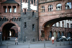 Arch at the Roman Frankfurt Royalty Free Stock Photos