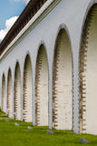 Arch Rostokino Aqueduct in Moscow.  Stock Photo