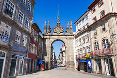 Arch of Rua Souto Royalty Free Stock Photography