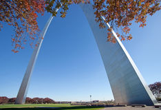 Arch in saint louis missouri Royalty Free Stock Photo