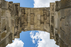 Arch of Saintes France with Sky Royalty Free Stock Photos